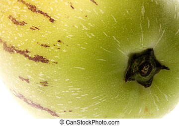 Pepino Dulce (Melon Pear) Macro - Isolated macro image of a...