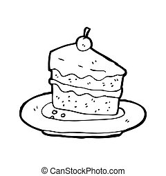 tasty cake cartoon