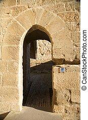 small castle door