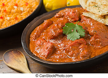 Chicken Tikka Masala - A delicious bowl of creamy chicken...