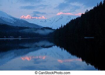 Auke Lake - Reflection on Auke Lake