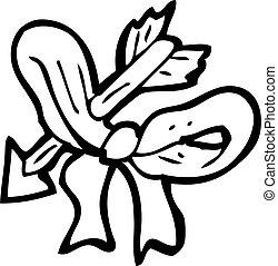 bow and arrow cartoon