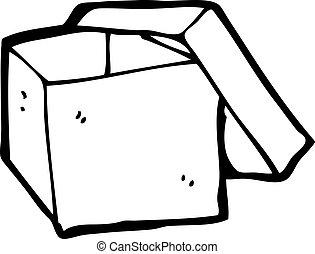 cartoon empty box