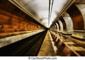 Subway - Beautiful Metro station in the long term objective