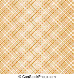 waffle background - vector illustration of a waffle as...