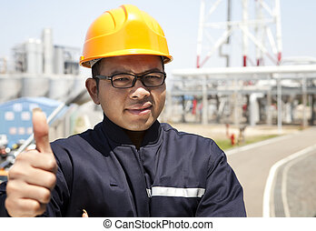 Industrial engineer - chemical industrial engineer with...