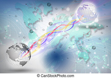 world telecommunication in digital period use for...