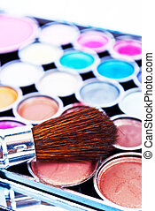 Eye shadows - Makeup brushes and make-up eye shadows