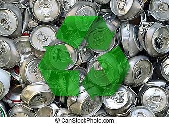 batido, Cerveja, latas
