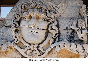 Apollo Temple - view of Temple of Apollo in antique city of...