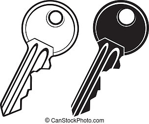 Key illustration - Key - vector illustration