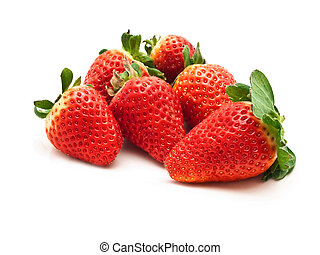 garden strawberry - photo of the delicious red garden...