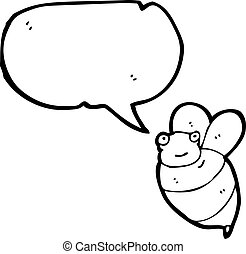 fat bee cartoon