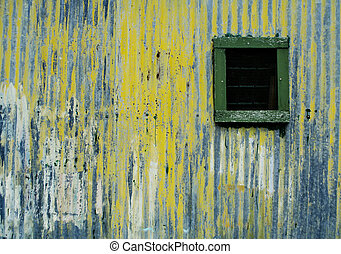 old boat shed exterior