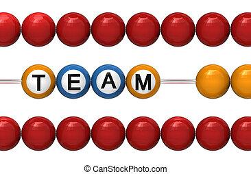 Teamwork as a metaphor