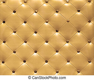 Upholster pattern - Classic leather upholster pattern in...