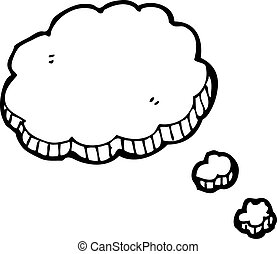 cartoon thought cloud