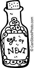 potion ingredient cartoon