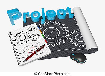 Project management - Blackprint development project as...