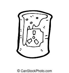 radioactive waste cartoon