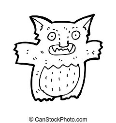 cartoon gremlin