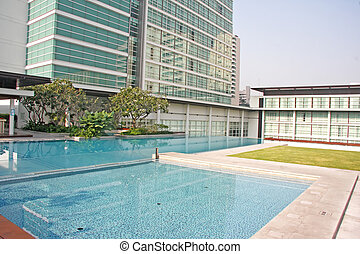 Luxury Apartment Condominium Property With a Pool