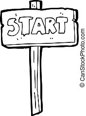 cartoon star sign