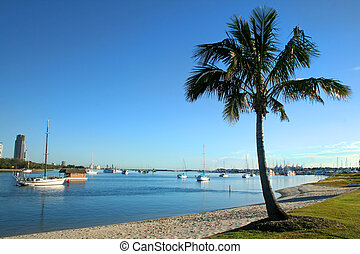 Broadwater Gold Coast - View of the Broadwater from Main...