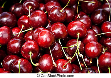 Cherries - A bunch of cherries