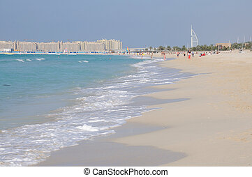 Jumeirah Beach in Dubai, United Arab Emirates