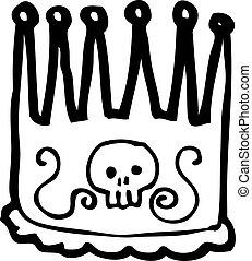 cartoon kings crown