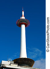 Kyoto tower, Japan - The observation tower opposite Kyoto JR...
