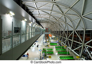 Architecture at airport - The design architecture at the...
