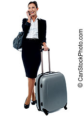 Hey I have a flight to catch, bye for now! - Business travel...