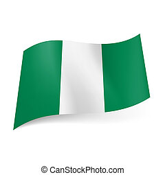 State flag of Nigeria - National flag of Nigeria...