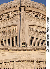 Bahá'í House of Worship - Bahá'í Temple in Wilmette,...
