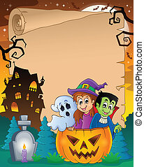 Halloween parchment 5