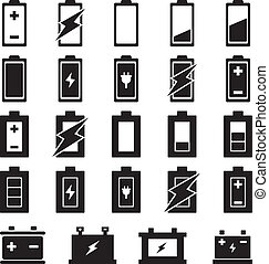 Battery vector set for your design