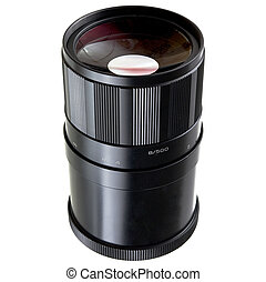Old Mirror lens objective 500mm - The Old mirror lens...