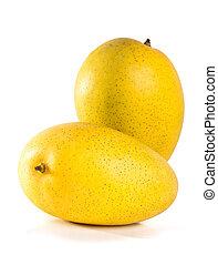mango. sweet mango on background. - mango. sweet mango on...