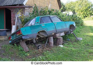 Extreme car repair