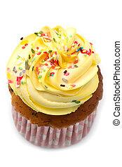 Delicious vanilla cupcake