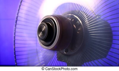 Electric Fan - Electric fan in motion
