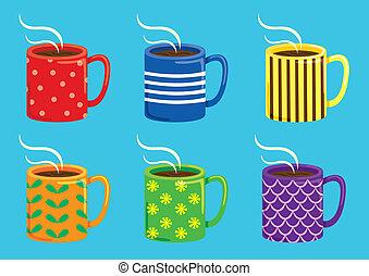 tassen illustrationen und clip art tassen lizenzfreie illustrationen und zeichnungen. Black Bedroom Furniture Sets. Home Design Ideas