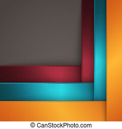 Abstract geometric background - Abstract modern striped...