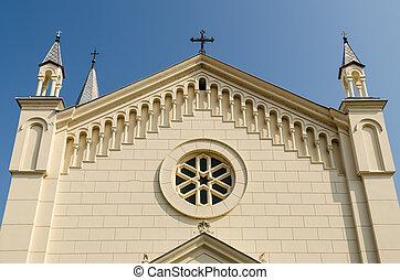 Roman Catholic Church Facade - Roman Catholic Church Details