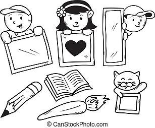 school doodle