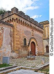 Dentice di Frasso Castle San Vito dei Normanni Puglia Italy...