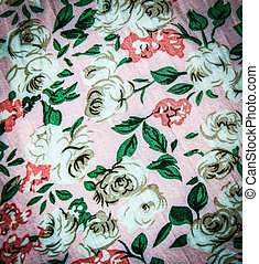 Rose cotton texture for background