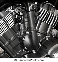 motorcycle engine background